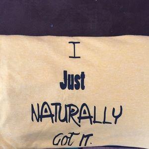 """ACTfirmation T-shirt"" tear away tag T-shirt"